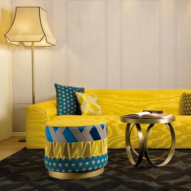 Italian Pierre Yellow Sofa by DOM Edizioni For Sale