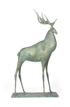 Deer I, Animal Bronze Sculpture