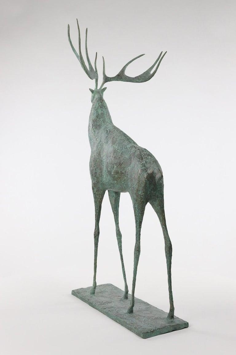 Deer II - Contemporary Animal Sculpture For Sale 1