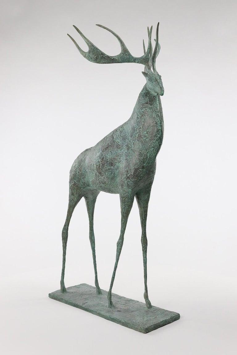 Deer II - Contemporary Animal Sculpture For Sale 2