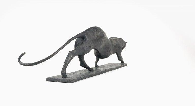 Feline IV - Contemporary Animal Sculpture For Sale 3
