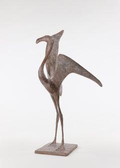 Flight VII - Bird Bronze Sculpture