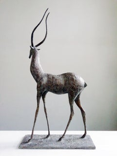 Gazelle I, Animal Bronze Sculpture