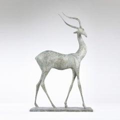 Gazelle II, Animal Bronze Sculpture