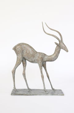 Gazelle III, Animal Bronze Sculpture