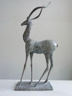 Gazelle IV, Animal Bronze Sculpture