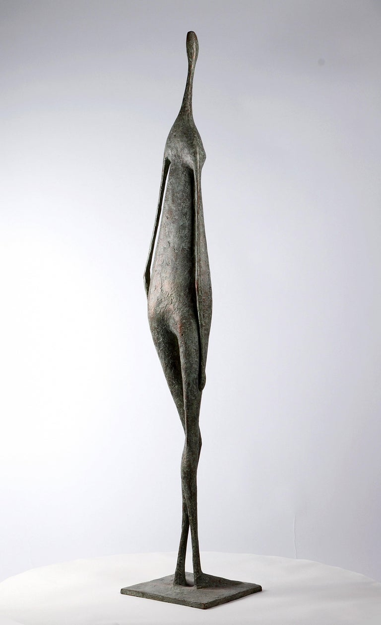 Great Standing Figure II - Bronze Sculpture For Sale 1