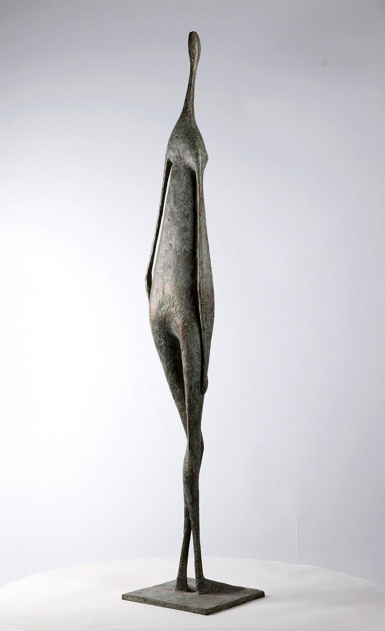 Great Standing Figure II - Contemporary Bronze Sculpture For Sale 1