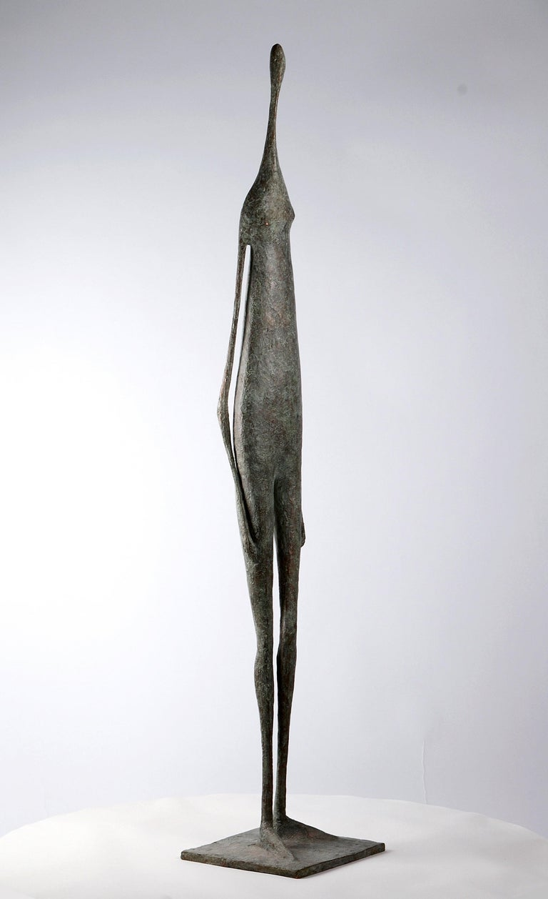 Great Standing Figure II - Bronze Sculpture For Sale 2