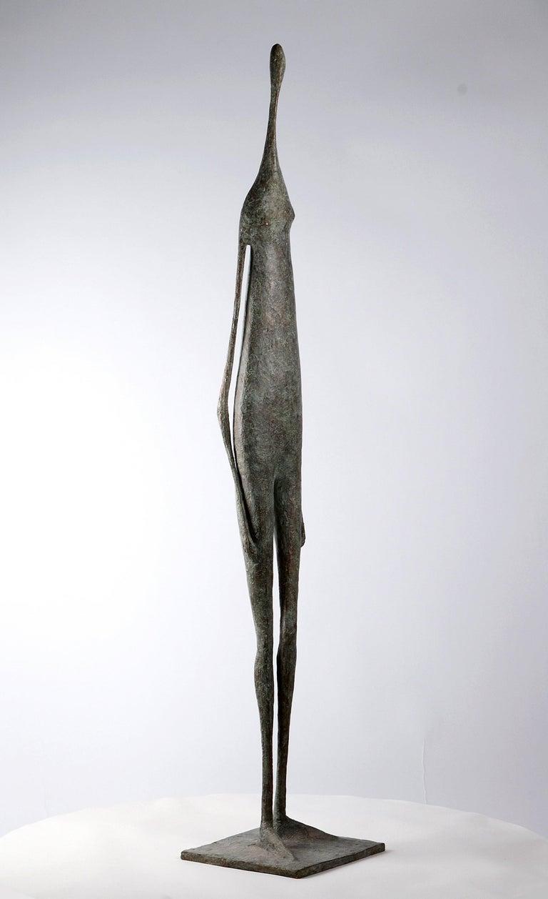 Great Standing Figure II - Contemporary Bronze Sculpture For Sale 2