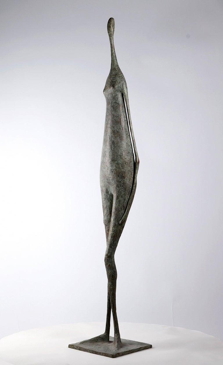 Great Standing Figure II - Contemporary Bronze Sculpture For Sale 3