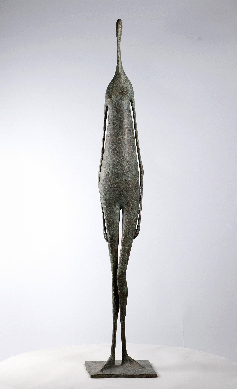Great Standing Figure II - Contemporary Bronze Sculpture