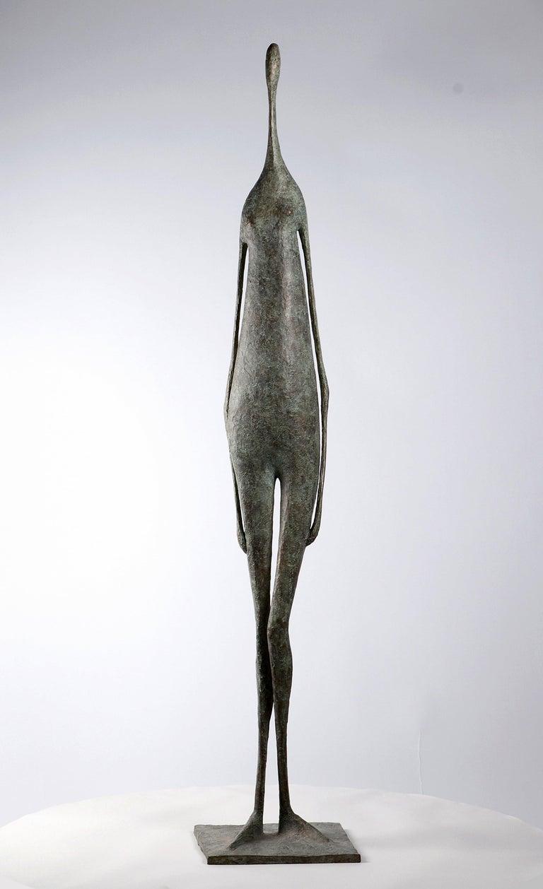 Pierre Yermia Nude Sculpture - Great Standing Figure II - Contemporary Bronze Sculpture