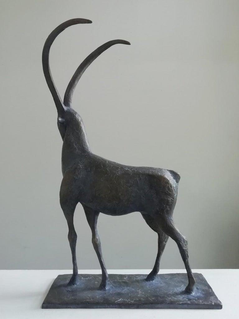 Ibex, Animal Bronze Sculpture For Sale 1