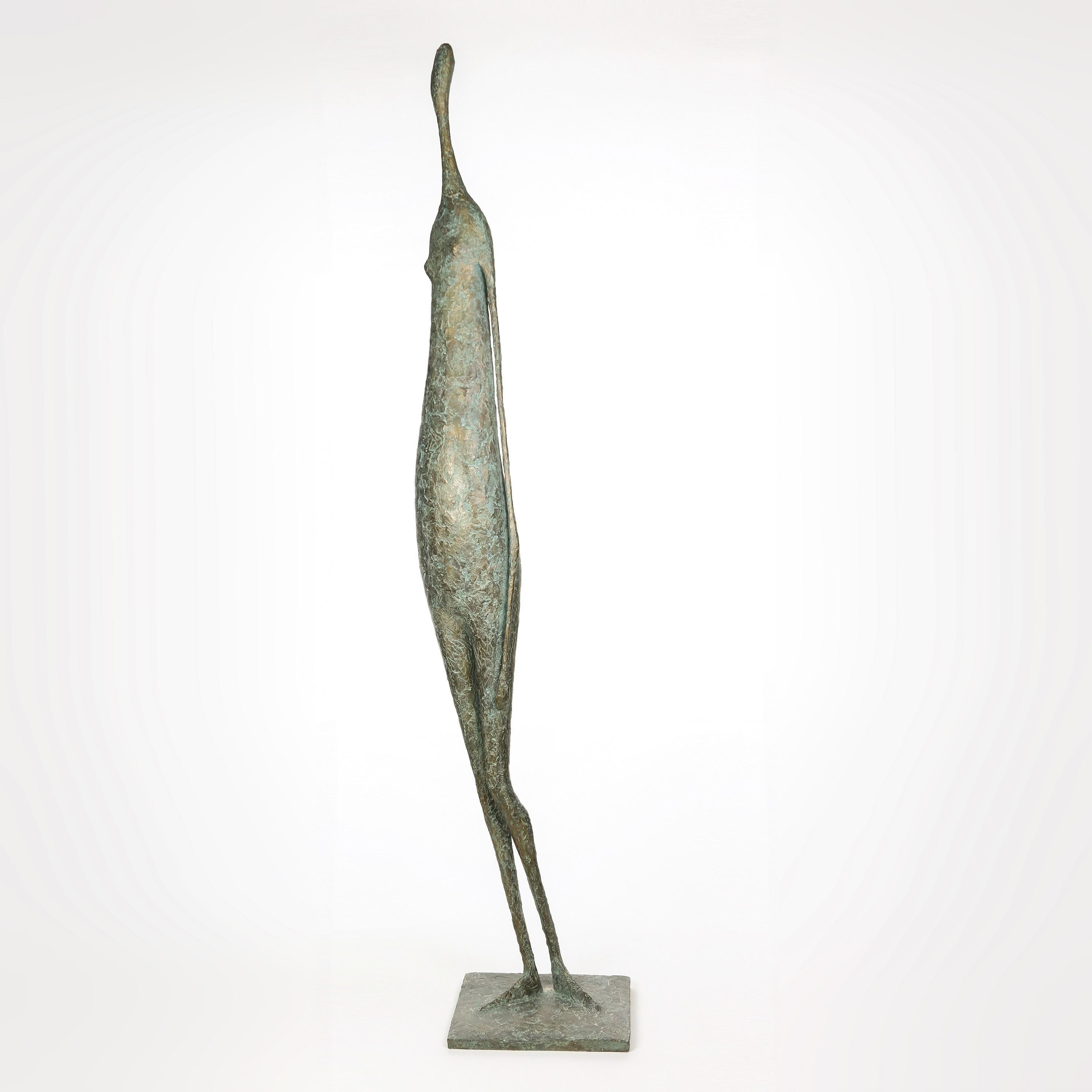 Large Standing Figure VI (contemporary bronze sculpture)