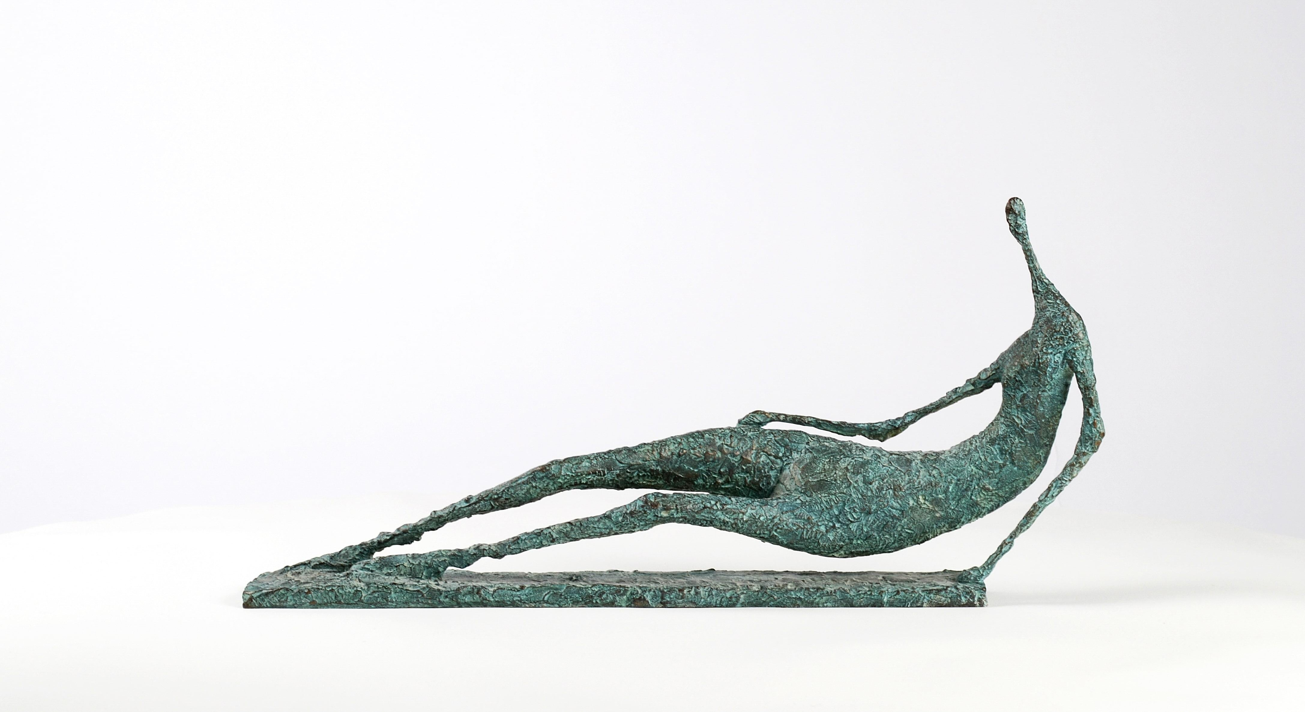 Lying Figure IV - Contemporary Bronze Sculpture