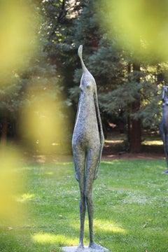 Monumental Standing Figure I (contemporary bronze sculpture)