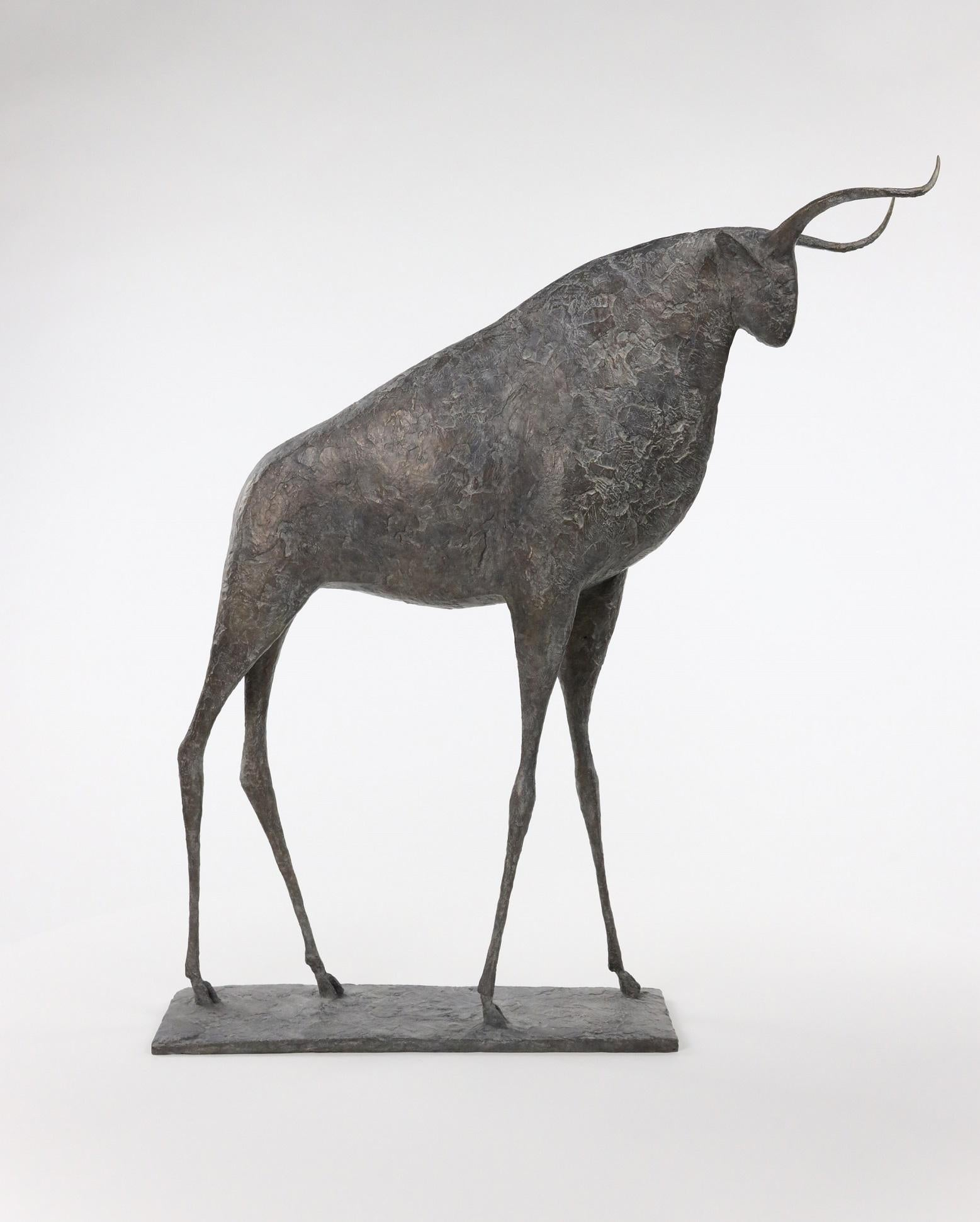 Taureau IX (Bull IX)  - Contemporary Animal Sculpture