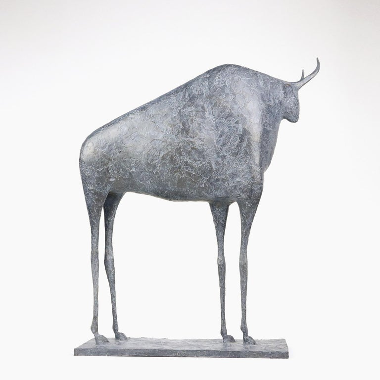 Bull VII (Taureau VII) is a sculpture by French contemporary artist Pierre Yermia.