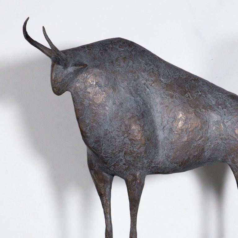 Taureau VII (Bull VII)  - Contemporary Animal Sculpture 4