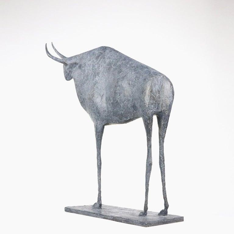 Taureau VII (Bull VII)  - Contemporary Animal Sculpture For Sale 1