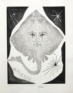 A Wild Ray - Original etching handsigned and numbered