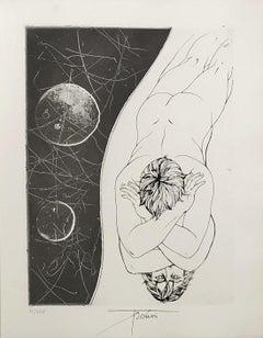 Narcisse - Original etching handsigned and numbered
