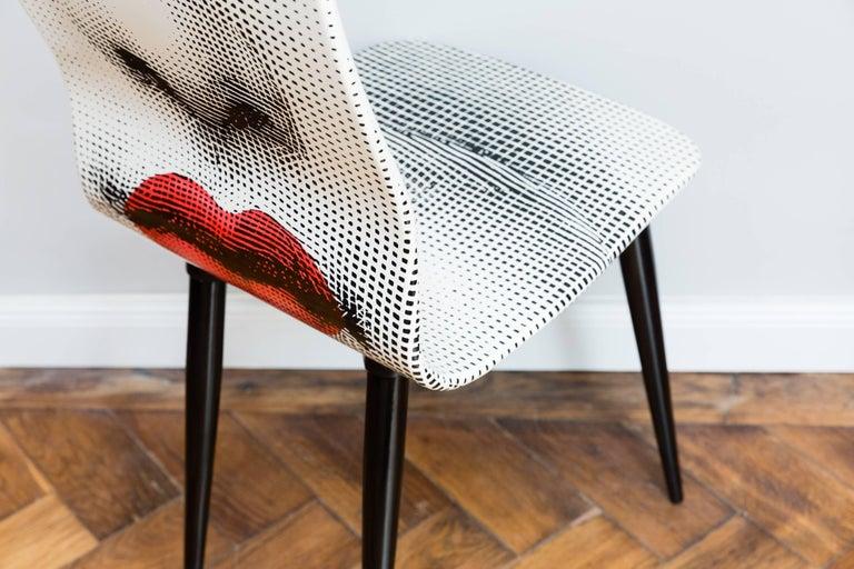 Pierro Fornasetti Bocca Chair, Italy Milano, 2006 In Excellent Condition For Sale In Munich, DE