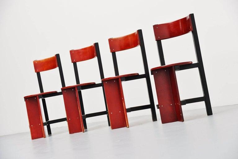 Mid-Century Modern Piet Blom Bastille Chair for Twente Institute of Technology, 1964 For Sale