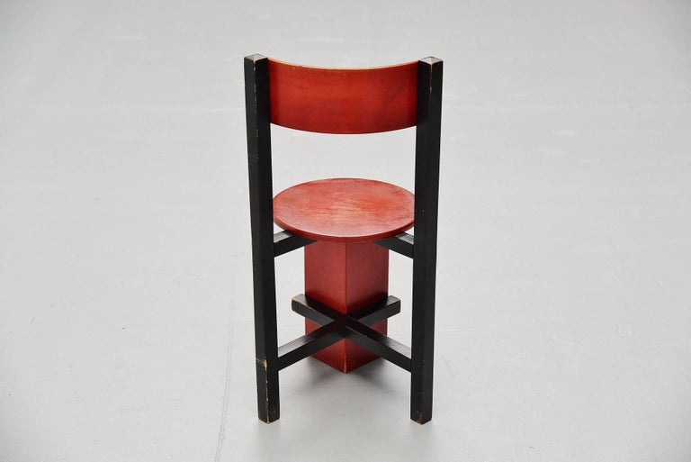 Piet Blom Bastille Chair for Twente Institute of Technology, 1964 In Excellent Condition For Sale In Roosendaal, Noord Brabant