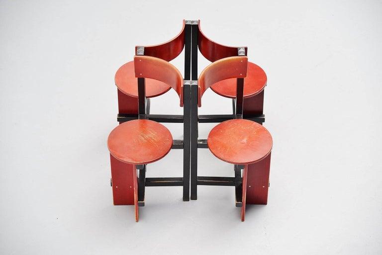 Piet Blom Bastille Chair for Twente Institute of Technology, 1964 For Sale 1