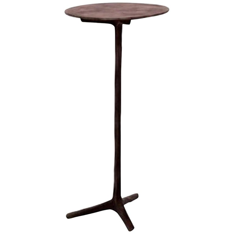 Piet Boon Klink side table in Dark Bronze For Sale