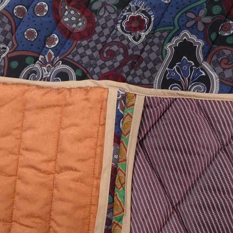 Piet Hein Eek Italian Silk Quilt Blanket In Excellent Condition For Sale In Amsterdam, NL