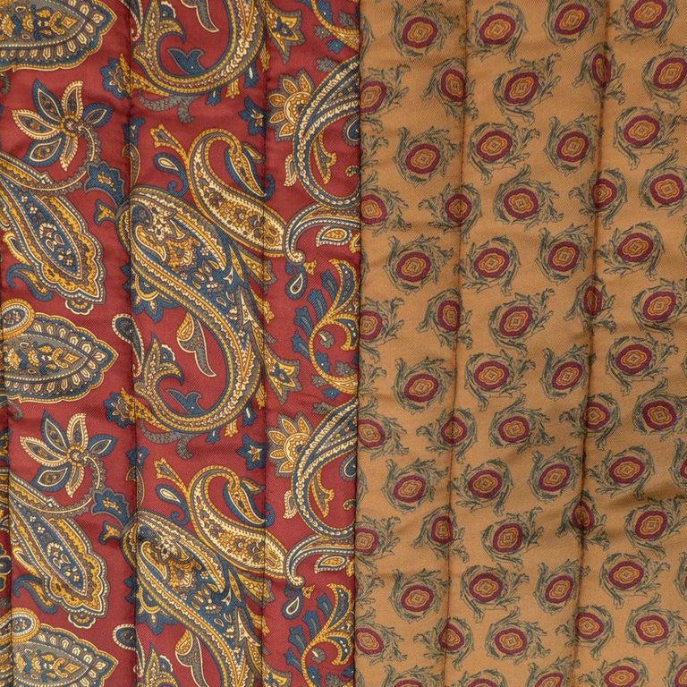 Piet Hein Eek Italian Silk Quilt Blanket For Sale 2