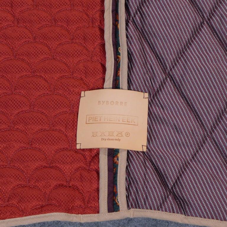 Modern Piet Hein Eek Vintage Italian Silk Quilt Blanket For Sale
