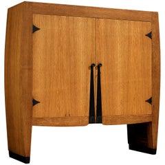 Piet Kramer Art Deco Cabinet in Oak
