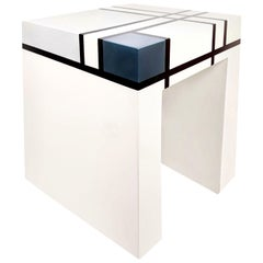 Mondrian Limited Edition Hand-Lacquered Cube Table, Barneys New York, 2007