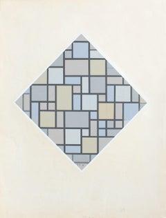 Lozenge Composition, 1919.
