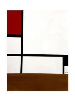 Piet Mondrian - Composition - Pochoir