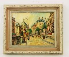 Impressionist Paris Street Scene Landscape Painting