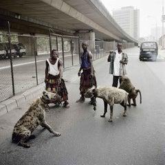 The Hyena Men of Abuja, Lagos, Nigeria, 2007- Pieter Hugo (Colour Photography)