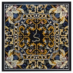 """Pietra Dura"" Tabletop, Marble and Hardstones, circa Late 20th Century"