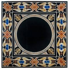 Pietra Dura Tabletop, Marble and Hardstones, Late 20th Century