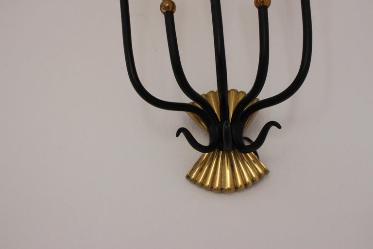Pietro Chiesa Attributed Wall Sconces In Good Condition For Sale In Los Angeles, CA