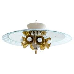 Pietro Chiesa, Ceiling Lamp, Italy, 1950s