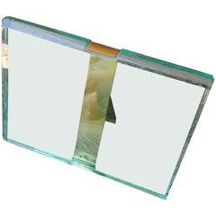 Pietro Chiesa / Fontana Arte Glass / Brass Picture Frame
