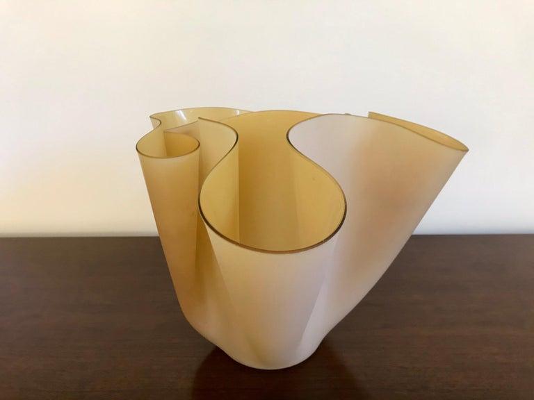 Pietro Chiesa Fontana Arte Sculptural Glass Vase For Sale 5