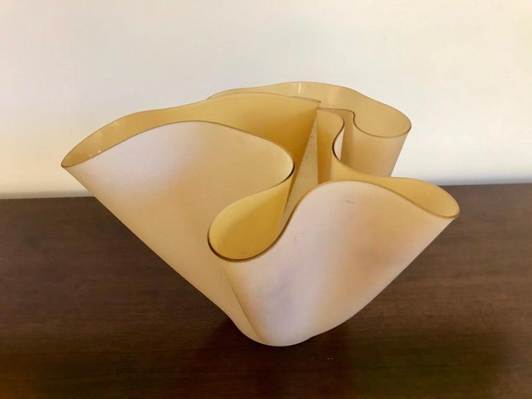 Pietro Chiesa Fontana Arte Sculptural Glass Vase For Sale 10
