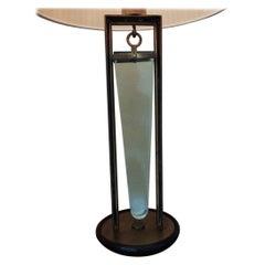 Pietro Chiesa Fontana Arte Table Lamp Brass Glass 1940 Italy