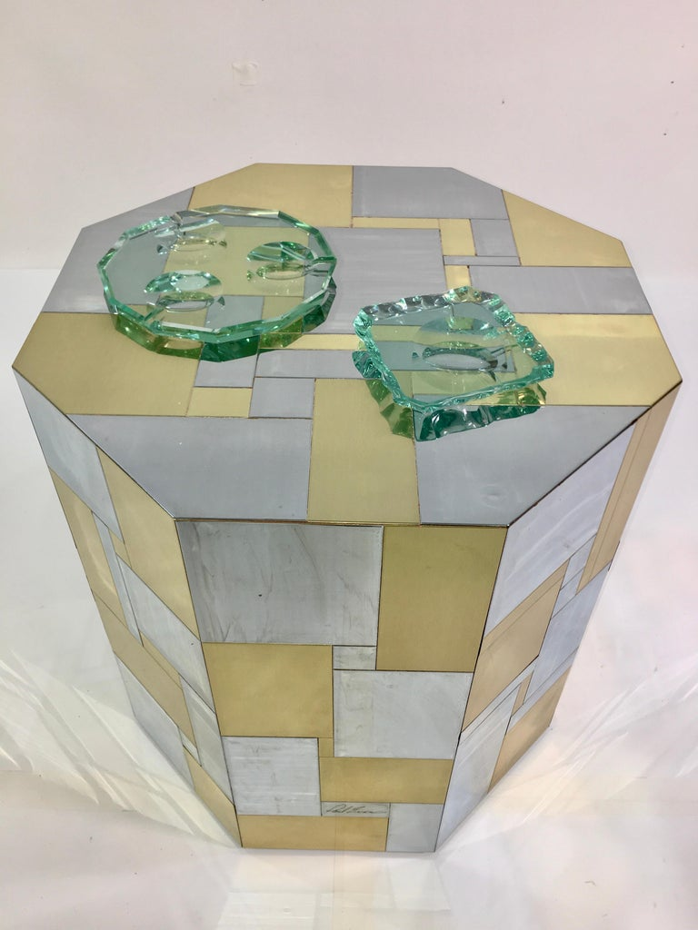 Pietro Chiesa for Fontana Arte Dodecagon Crystal Ashtray For Sale 7